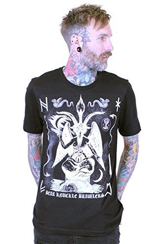 bear-knuckle-brawlers-designer-tshirt-mens-baphomet-black-l-cv3001
