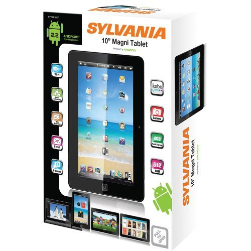 Sylvania 10 Touch Screen Magni Tablet - SYTAB10ST
