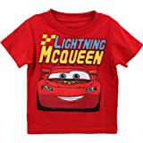 Disney Cars Lightning McQueen Red Toddler T-Shirt