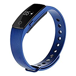 Zomtop ID107 Bluetooth 4.0 Smart Bracelet smart band Heart Rate Monitor Wristband Fitness Tracker for Android iOS Smartphone by Zomtop