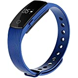 Zomtop ID107 Bluetooth 4.0 Smart Bracelet Smart Band Heart Rate Monitor Wristband Fitness Tracker For Android... - B01DF2GZX0