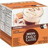 Nescafé Dolce Gusto Latte Macchiato Caramel, 16 Capsules (8 Portions)