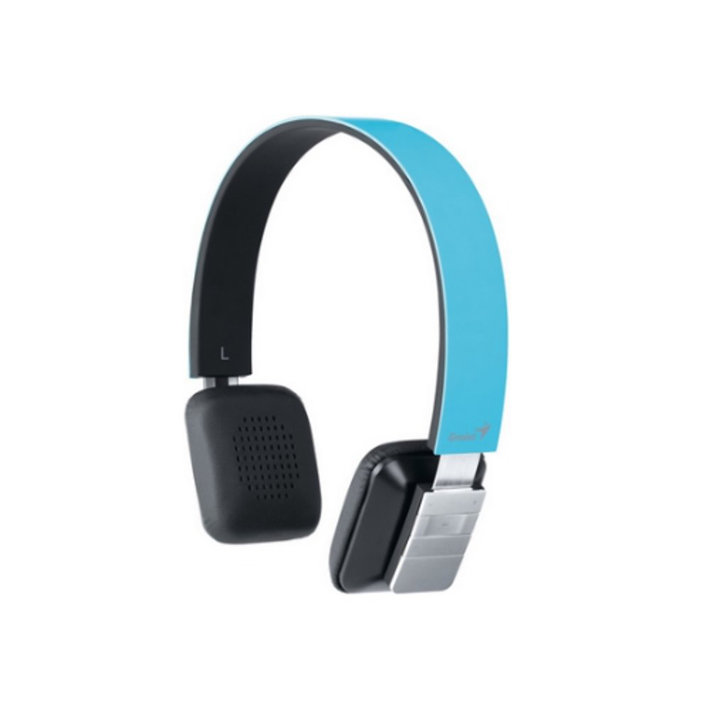 Genius HS 920BT Wireless Bluetooth Headset with Built In Rechargeable Lithium Ion Battery   BlueCustomer review