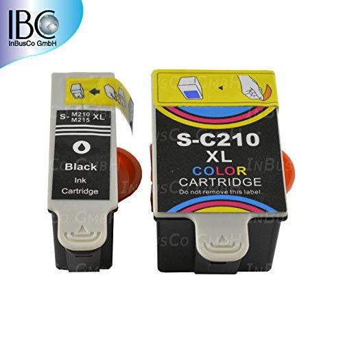 2x DRUCKER Patronen für SAMSUNG INK-C210 INK-M210 CJX-1000 CJX-1050W CJX-2000FW