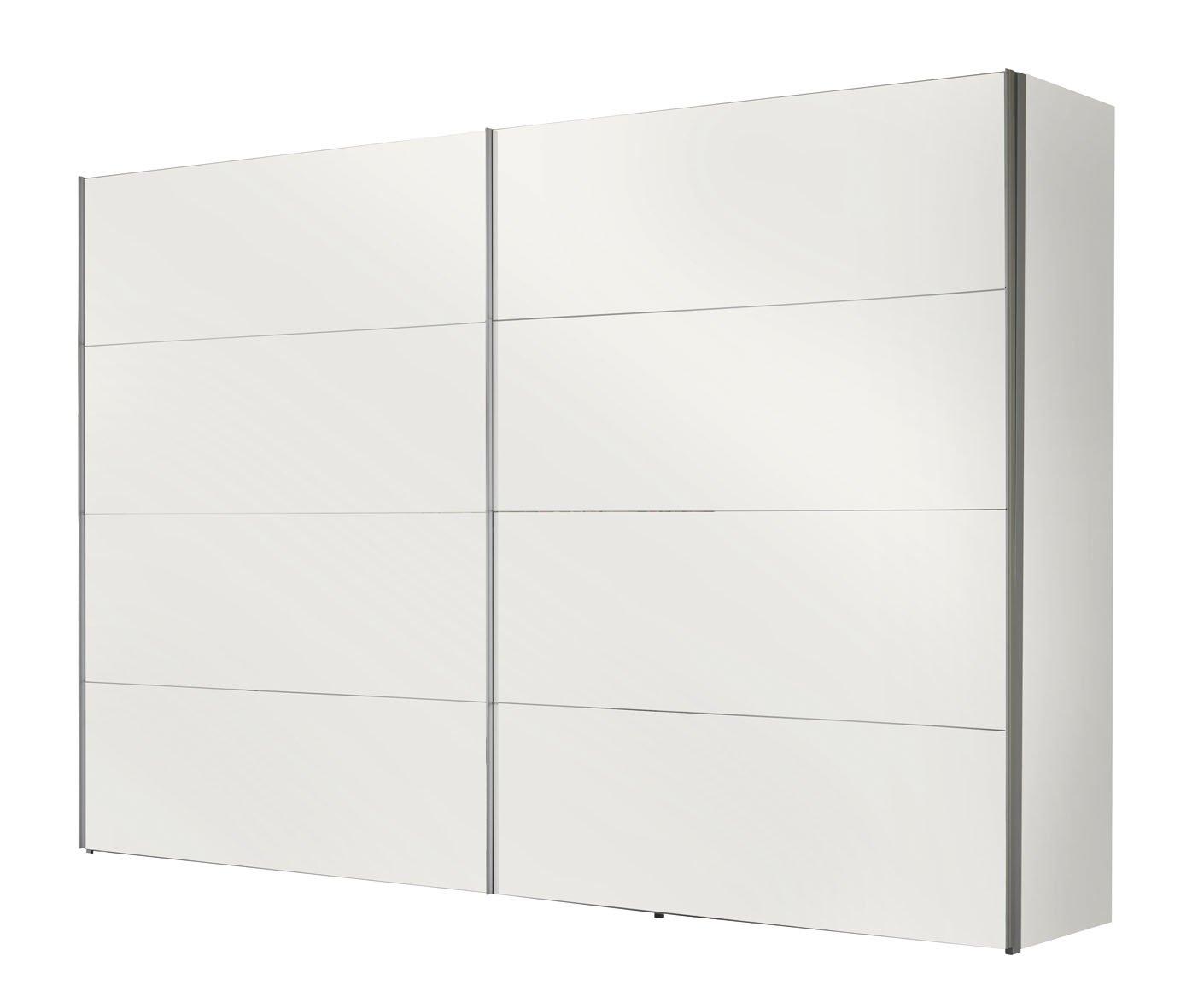 Solutions 49540070 Schwebetürenschrank 300 x 216 x 68 cm / polarweiß  Kundenbewertung: