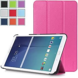 Galaxy Tab E 8.0 Case - HOTCOOL Ultra Slim Lightweight Stand Cover Case For Samsung Galaxy Tab E 8.0 Tablet, Magenta
