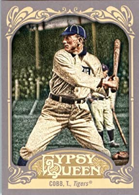 2012 Topps Gypsy Queen Baseball Card #229 Ty Cobb - Detroit Tigers (MLB Trading Card)