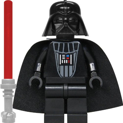 LEGO Star Wars Minifigure Darth Vader (Imperial Inspection) with Lighsaber