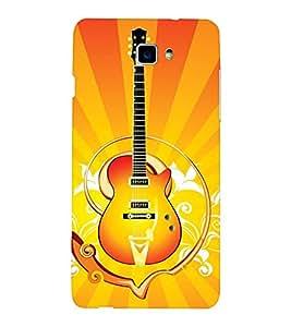 EPICCASE stylish guitar Mobile Back Case Cover For LeEco Letv Le 2 (Designer Case)
