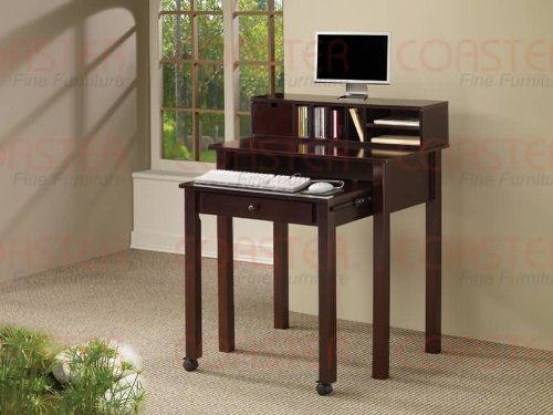 Buy Low Price Comfortable COMPUTER DESK/CAPPUCCINO 31-1/2″x19″-30″x38-1/2″H (B004BI06EC)