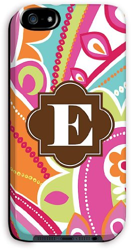 Great Sale CaseStreet Pucci iPhone 5 Case (Letter E)
