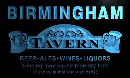 Px2147-B Birmingham Tavern Beer Mug Bar Pub Wine Neon Light Sign
