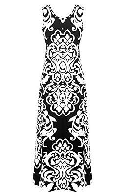 G2 Chic® Women's Printed Summer Maxi Dress