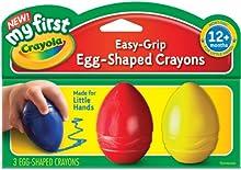 Comprar Crayola - Ceras en forma de huevo en 3 colores (81-1345)