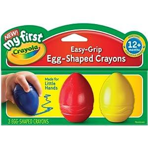 My First Crayola Egg-Shaped Crayons
