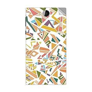 Garmor Designer Mobile Skin Sticker For ZEN ULTRAFONE 101- Mobile Sticker
