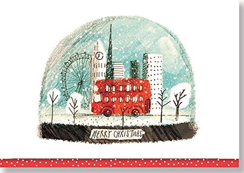 London Snowglobe Small Boxed Holiday Cards (Christmas Cards, Holiday Cards, Greeting Cards)