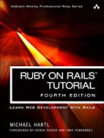 Ruby on Rails Tutorial: Learn Web Development with Rails, 4th Edition Front Cover