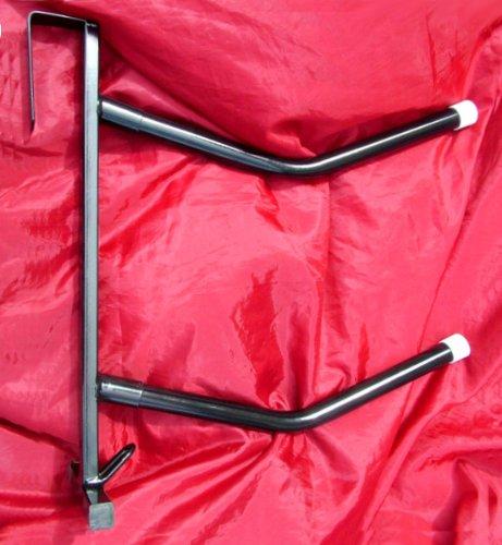 NEW DOOR MOUNTED STRONG 2 ARM/BAR SADDLE/TACK/BRIDLE RACK