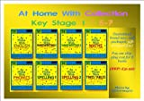 AT HOME WITH COLLECTION * KEY STAGE 1 * 5-7 YEARS * 8 books : 1. At Home with English 2. At Home with Writing 1 3. At Home With Writing 2 4. At Home with Maths 5. At Home With Phonics 6. At Home with Spelling 1 7. At Home with Spelling 2 (8. At Home with