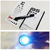EMI Rosenbaum and Snellen Pocket Eye Charts with LED Penlight Set