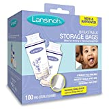 lansinoh breastmilk storage bags 100 count bpa free and bps free packaging may vary