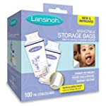 Lansinoh Breastmilk Storage Bags, 100...