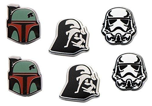 Star Wars Dark Side Enamel Stud Earrings (Set of 3)