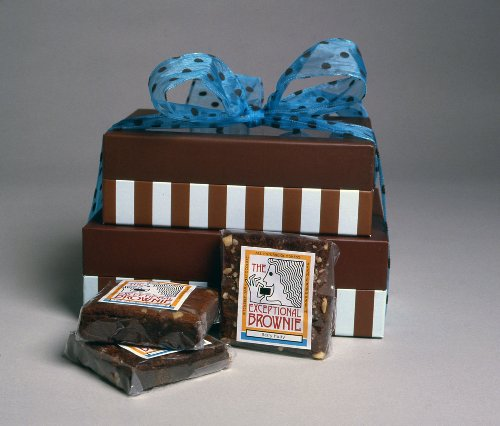 Brownie Double Decker Gourmet Gift