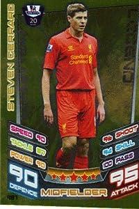 Match Attax 20122013 Legend Card - 487 Liverpool Steven Gerrard from Topps