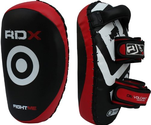 RDX Pair of Thai Kick Boxing Strike Shield Muay Pads Arm Punch MMA UFC Focus Bag