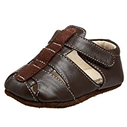 Smaller by See Kai Run Ainsley Crib Shoe (Infant/Toddler),Brown,0-6 Months (US Infant 2-2.5 M)