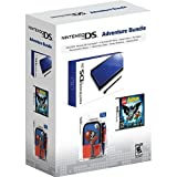 Nintendo DS Lite Cobalt/Black Adventure Bundle