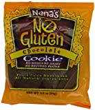 Nana's No Gluten Cookie, Chocolate, 99 g Packages (Pack of 12)