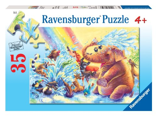 Ravensburger Fun At The Waterhole - 35 Pieces Puzzle