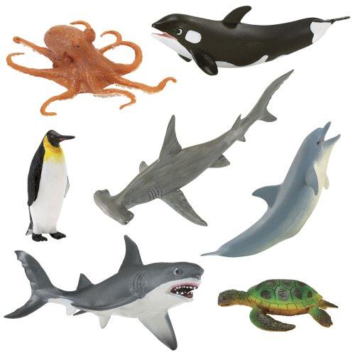 Buy Low Price Safari Wild Safari ® Wonders of the Ocean Figure (B000U0D4NU)