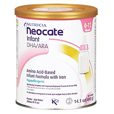 Neocate Infant With Dha and Ara, 14.1 Oz / 400 G (1 Can), 14.1 Count from Danone Nutricia