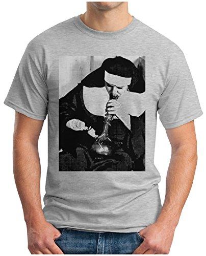 OM3 -  T-shirt - Maniche corte  - Uomo misto grigio XX-Large