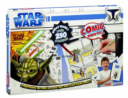 Clone Wars Comic Maker Kit
