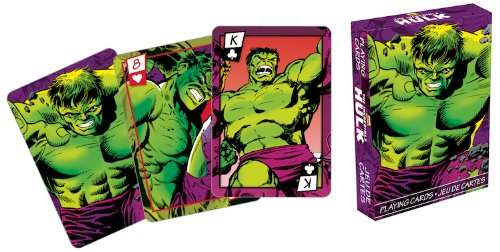 Marvel Hulk Series 2 Comic Playing Cards