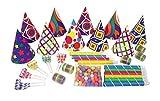 P 'tit payaso 36388cotillons-Bolsita 10personas-, Multicolor