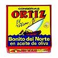 Ortiz White Tuna in Olive Oil Tin, 92-Grams (Pack of 5)