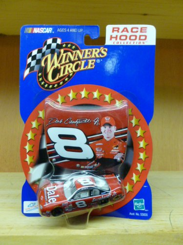 No Budweiser Logos Dale Earnhardt Jr #8 Monte Carlo 1/64 Scale & Bonus Replica Photo Magnet Hood Winners Circle Hasbro 2000 Edition