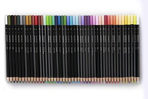 Solabela® Colored Pencils Black Barrel - Set of 48