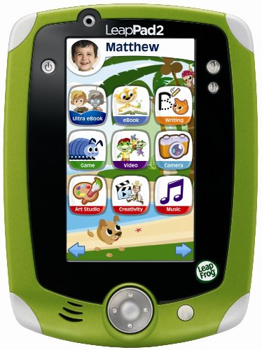 LeapFrog LeapPad2 Explorer, verde
