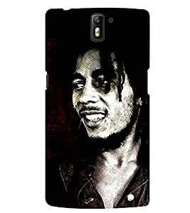 D KAUR Bob Marley Fans Back Case Cover for OnePlus One