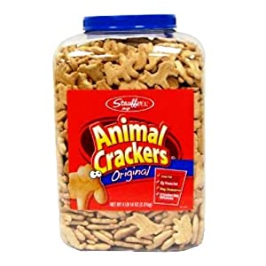 Stauffer's Original Animal Crackers - 4lb 14oz tub
