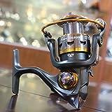 Generic Black, 11 : Lizard Fishing11BB German Technology 1000-6000 Series Full Metal Spool For Bait Carp Feeder...