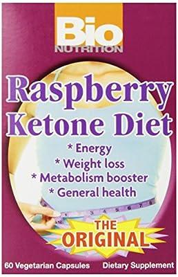 Bio Nutrition Ketone Diet Vegi-Caps, Raspberry, 60 Count