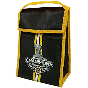 Boston Bruins NHL 2011 Stanley Cup Champions Velcro Insulated Lunch Cooler